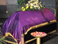 火葬場にて荼毘